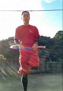 体幹フラ跳び1