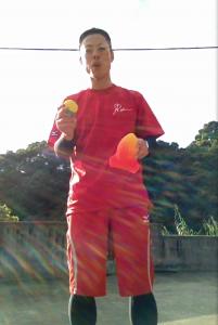 体幹ボール3